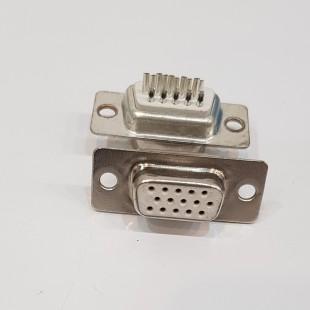 کانکتور DB-15 مادگی رو پنلی, DB-15 famale panel mount Connector