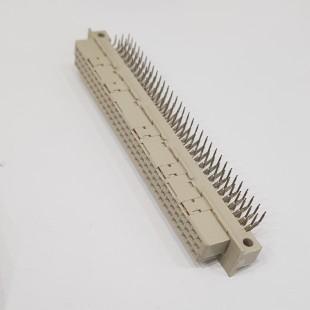 کانکتور DIN 41612 نوع C، مادگی، سه ردیف 96 پایه، رایت انگل، DIN 41612 Connector Type E, Female, 3x32 Pin (abc) Right angle