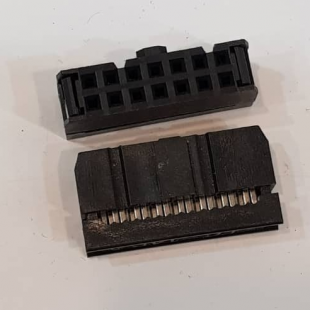 کانکتور آی دی سی 2x7 مادگی 2.54 میلیمتر، IDC Connector, 2x7 Female 2.54mm Pitch