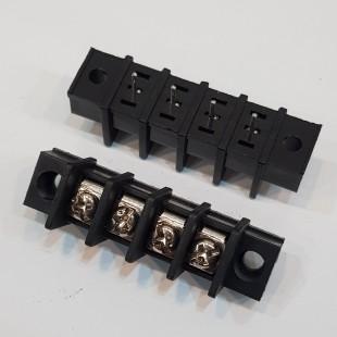 بلوک ترمینال KF35CM رو پنلی 4 پایه صاف 8.25 میلیمتر، KF35CM Terminal Block 4 Pin Straight Panel Mount 8.25mm