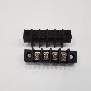 بلوک ترمینال KF35CM رو پنلی 3 پایه صاف 8.25 میلیمتر، KF35CM Terminal Block 3 Pin Straight Panel Mount 8.25mm