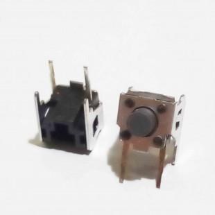 تک سوییچ رایت 6x6x3.15mm دوپایه ( بسته 5 عددی)، Tactile Switch Right angle 6x6x3.15-2Pin