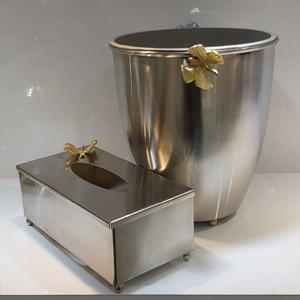 سطل و دستمال پروانه