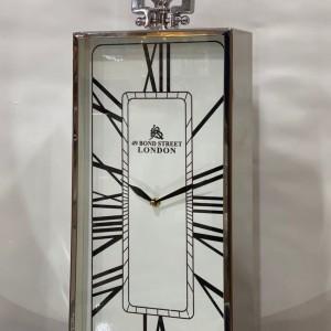 ساعت استیل رومیزی