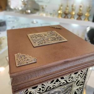 ست سطل و دستمال چوبی سلطنتی