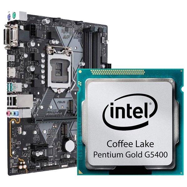 مادربرد ایسوس B360M-A و پردازنده G5400