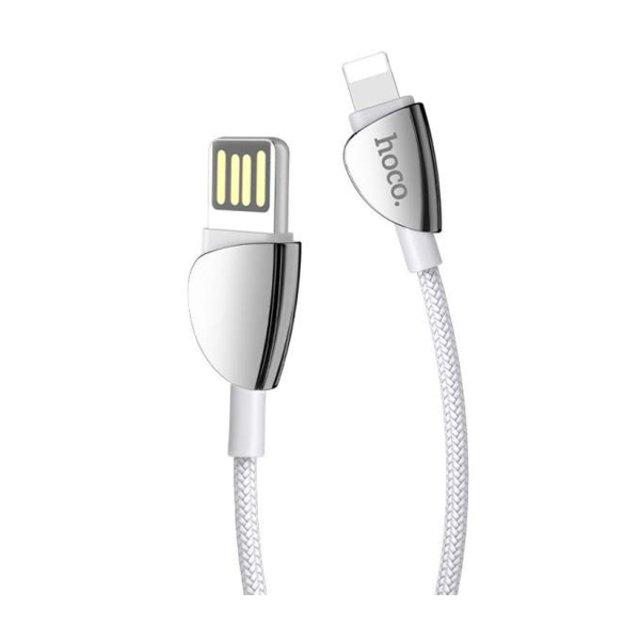 کابل تبدیل USB به لایتنینگ 1.2 متری هوکو U62