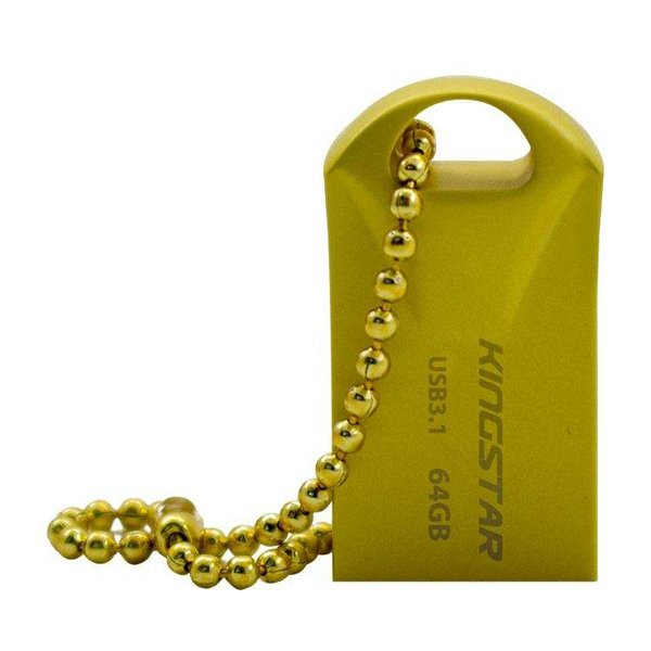 فلش مموری کینگ استار مدل KS218 Gold ظرفیت 64 گیگابایت