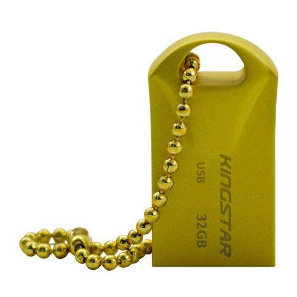 فلش مموری کینگ استار مدل KS218 Gold ظرفیت 32 گیگابایت