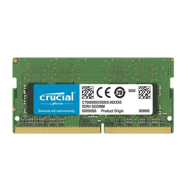 حافظه رم لپ تاپکروشیال مدل CT4G4SFS8266 CL194GB DDR4 2666Mhz