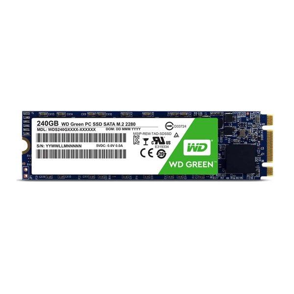 حافظه اس اس دی اینترنال وسترن دیجیتال مدل Green WDS240G2G0B ظرفیت 240 گیگابایت
