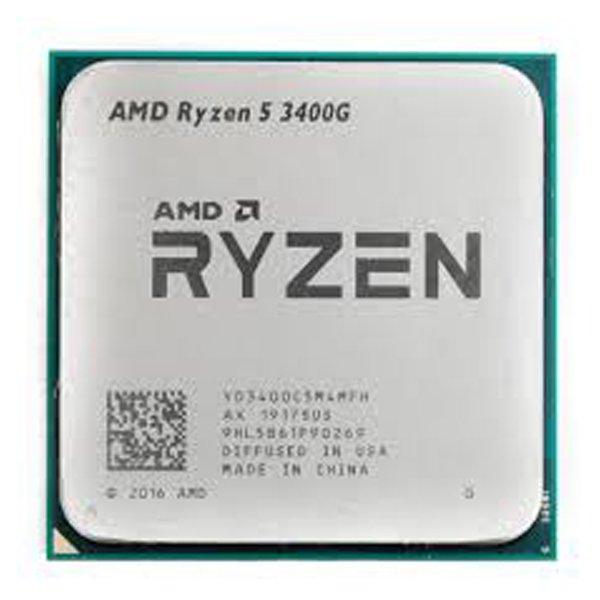 پردازنده مرکزی ای ام دی مدل Ryzen 5 3400G Tray