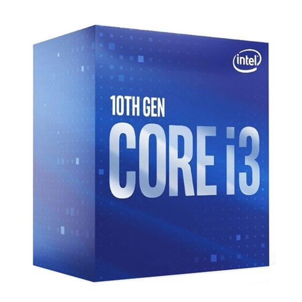 پردازنده مرکزی اینتل سری Comet Lake مدل Core i3 10100F Box