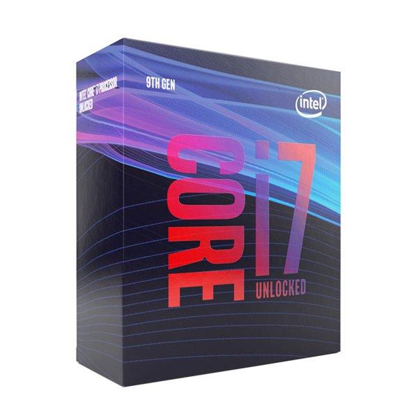 پردازنده مرکزی اینتل سری Coffee Lake مدل Core i7-9700K Box (بدون فن)