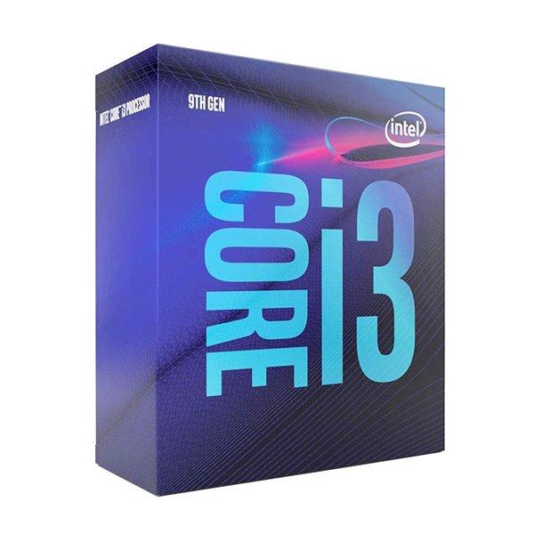 پردازنده مرکزی اینتل سری Coffee Lake مدل Core i3 9100 Box ( با فن TinyCool 85)