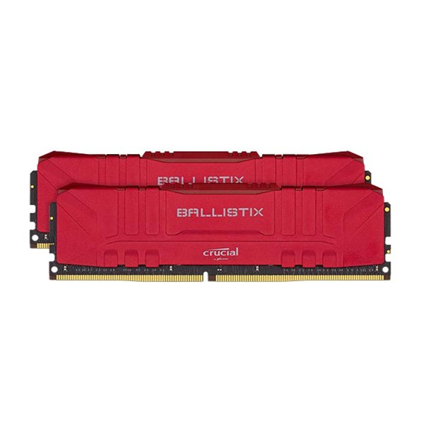 حافظه رم دسکتاپ کروشیال مدل Ballistix Gaming 32GB DDR4 3600Mhz (2×16G)