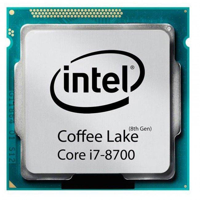پردازنده مرکزی اینتل مدل i7 8700 TRAY
