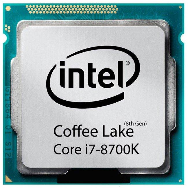 پردازنده مرکزی اینتل مدل i7 8700K TRAY