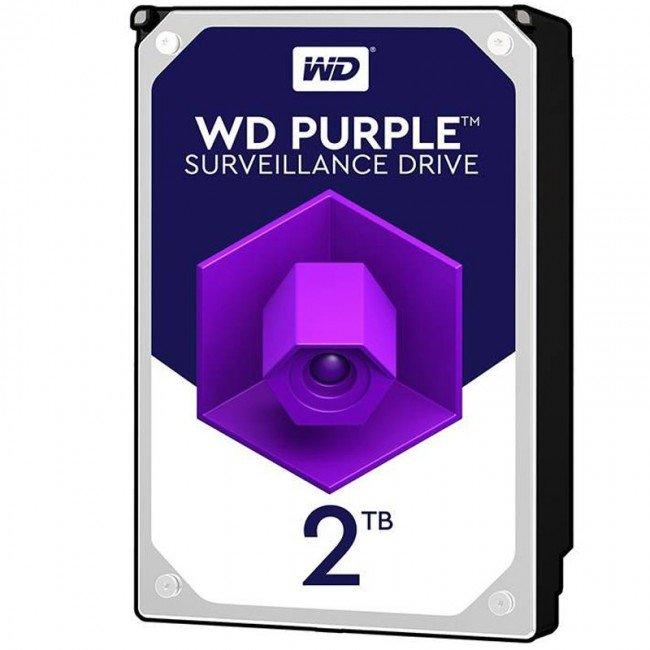 هارددیسک اینترنال وسترن دیجیتال مدل  WD 2TB PURPLE