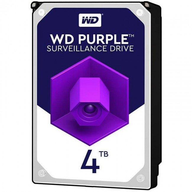 هارددیسک اینترنال وسترن دیجیتال مدل WD 4TB PURPLE