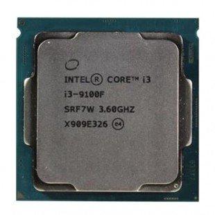 پردازنده مرکزی اینتل سری Coffee Lake مدل Core i3-9100F BOX