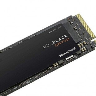 حافظه SSD وسترن دیجیتال مدل BLACK SN750 NVME ظرفیت 250 گیگابایت