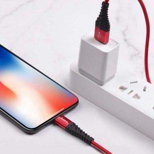 کابل تبدیل USB به لایتنینگ 1 متری هوکو X38