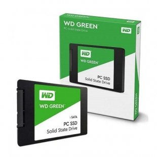 اس اس دی وسترن دیجیتال مدل GREEN WDS480G2G0A ظرفیت 480 گیگابایت