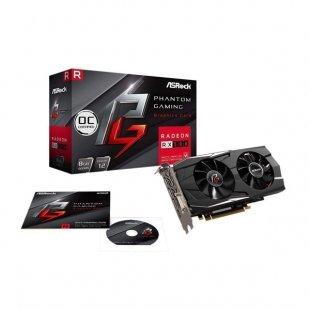 کارت گرافیک ازراک مدل Phantom Gaming D Radeon RX580 8G OC