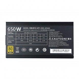 منبع تغذیه کامپیوتر کولر مستر مدل MWE Gold 650W Full Modular