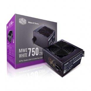 منبع تغذیه کامپیوتر کولر مستر مدل 750W MWE White