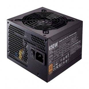 منبع تغذیه کامپیوتر کولر مستر مدل MWE Bronze 650W