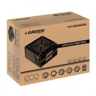 منبع تغذیه کامپیوتر گرین مدل GP300A-ECO Rev3.1