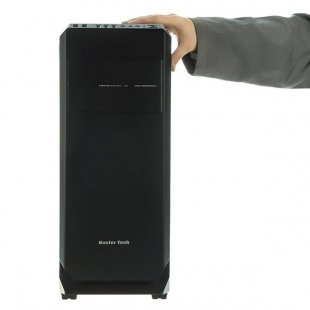 کیس کامپیوتر مستر تک مدل ALPHA FLAT METAL