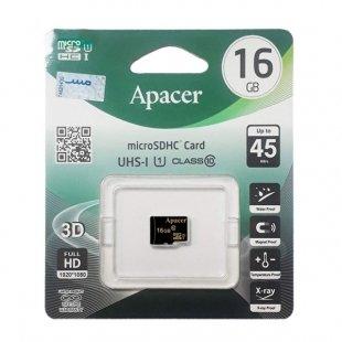 کارت حافظه اپیسرAP16GAmicroSDHC U1 C10 45MBps16GB