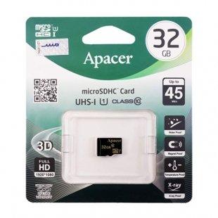 کارت حافظه اپیسر AP32GA microSDHC U1 C10 45MBps 32GB