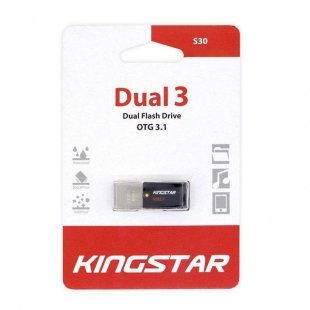 فلش مموری کینگ استار مدل S30 Dual 3 ظرفیت 32 گیگابایت