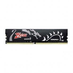 حافظه رم دسکتاپ کینگ مکس مدل Zeus Dragon CL17 8GB DDR4 3000Mhz