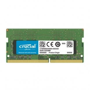 حافظه رم لپ تاپکروشیال مدل CT16G4SFD8266 CL1916GB DDR4 2666Mhz