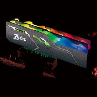 حافظه رم دسکتاپ کینگ مکس مدل Zeus Dragon RGB CL17 16GB DDR4 3200Mhz