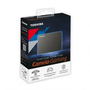 هارد اکسترنال توشیبا مدل Canvio Gaming ظرفیت 2 ترابایت
