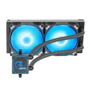 خنک کننده پردازنده گرین مدل GLACIER 240 ARGB