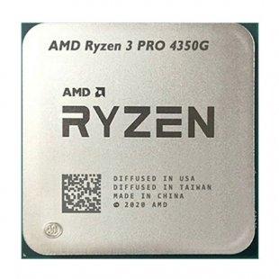 پردازنده مرکزی ای ام دی مدل Ryzen 3 PRO 4350G Tray (بدون فن-باندل)