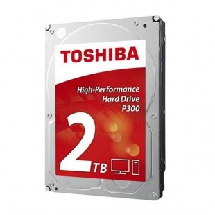 هارددیسک اینترنال توشیبا مدل P300 HDWD120 ظرفیت 2 ترابایت(بدون جعبه)