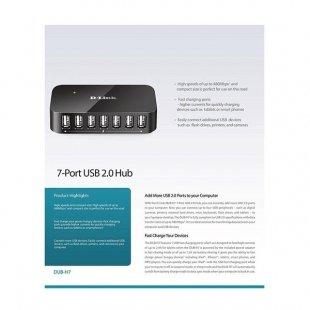 هاب 7 پورت دی لینک مدل DUB-H7-D1