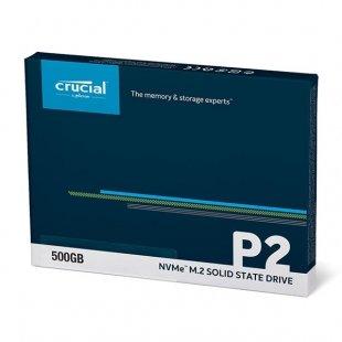 حافظه اس اس دی کروشیال مدل P2 M.2 2280 ظرفیت 500 گیگابایت