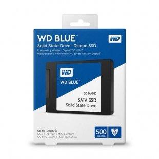 حافظه اس اس دی اینترنال وسترن دیجیتال مدل Blue WDS500G2B0A ظرفیت 500 گیگابایت