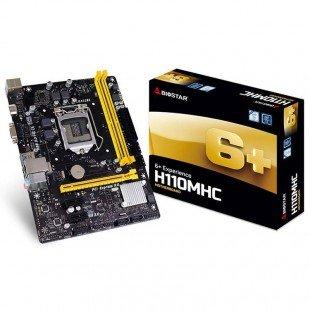 BIOSTAR H110 MHC motherboard