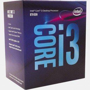پردازنده مرکزی اینتل مدل i3 8100 BOX