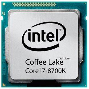 پردازنده مرکزی اینتل سری Coffee Lake مدل Core i7-8700K تری بدون فن